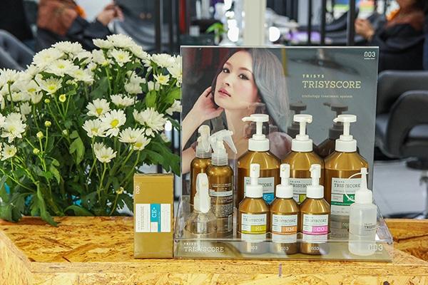 Hấp Trisyscore (003) - Liệu pháp cho mái tóc khỏe đẹp, bồng bềnh