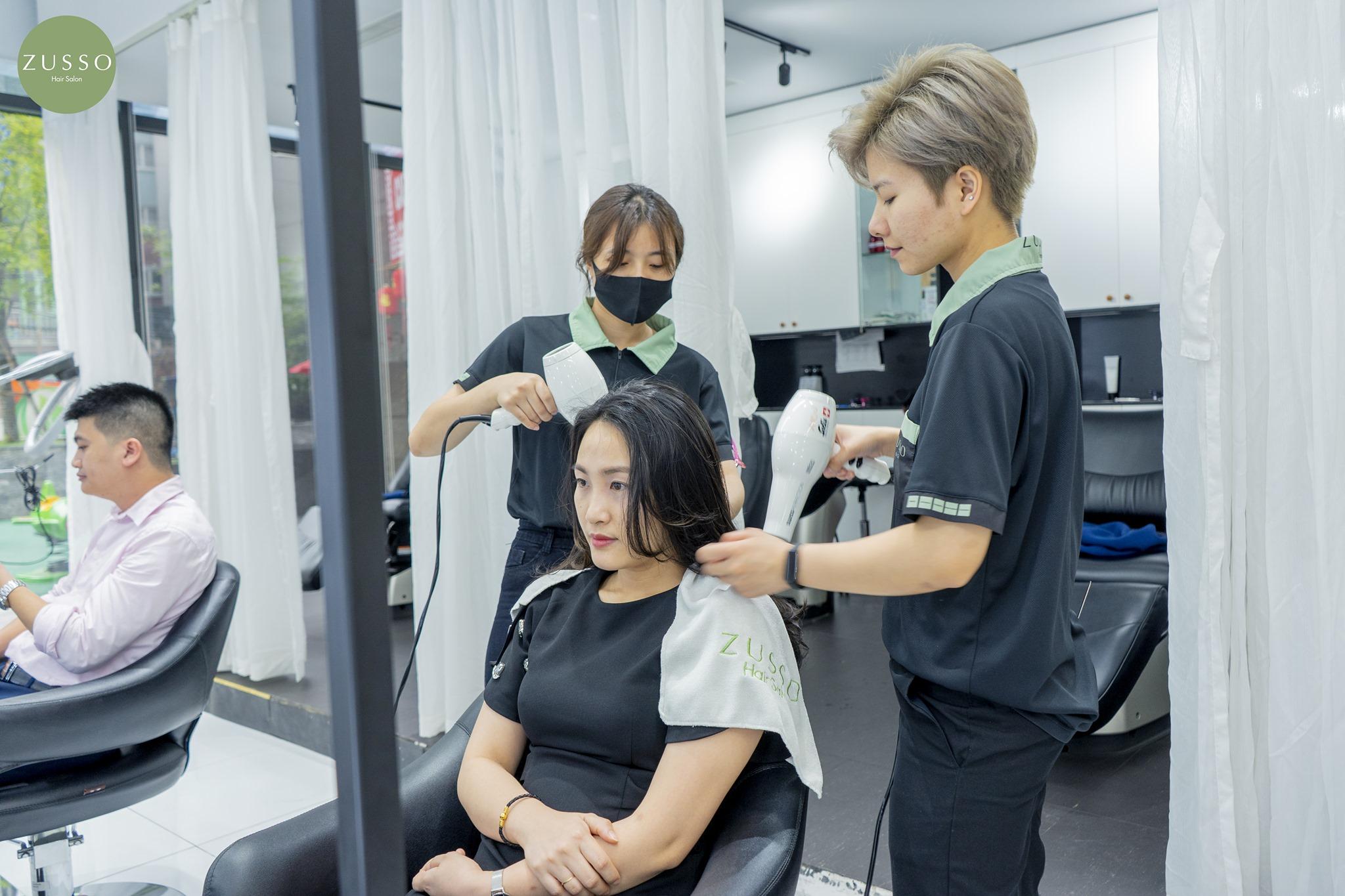 Sử dụng sản phẩm nhuộm tóc an toàn